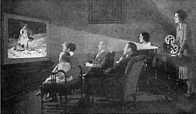 Anúncio Pathé-Baby e representantes comerciais diversos. Fon Fon, Rio de Janeiro, 5 de abril de 1924.