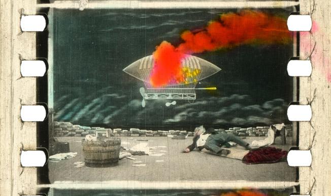 Le Dirigeable fantastique (Georges Méliès Star Film, 1906)