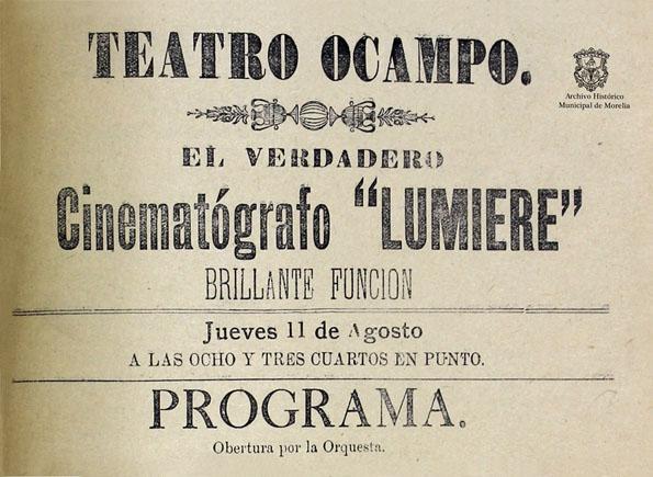 Programa Teatro Ocampo