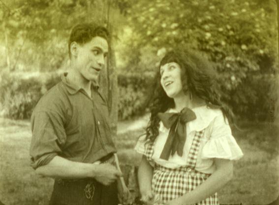 anta y no llores, corazón (o el precio de una honra) (Chile, 1925, 50 min, 35mm, silente, b/n), de Juan Pérez Berrocal