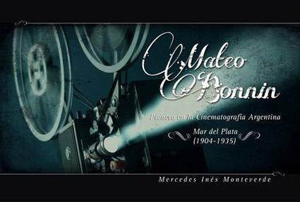 Tapa de Mateo Bonnin, pionero en la cinematografía argentina