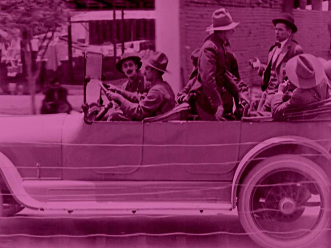 El automóvil gris (Enrique Rosas, 1919, México)